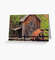 Sixies Mill Closeup Greeting Card