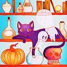 Halloween Kitty by Margaret Stevens