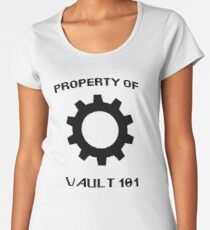 Property of Vault 101 Women's Premium T-Shirt