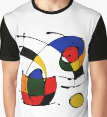 In The Style of Joan Miro Graphic T-Shirt