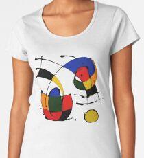 In The Style of Joan Miro Women's Premium T-Shirt