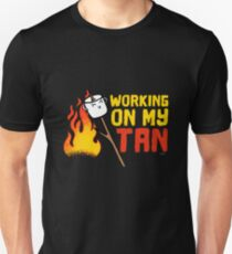 Working on my tan gift Unisex T-Shirt