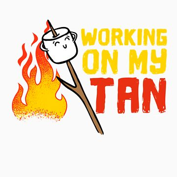 Working on my tan gift by LikeAPig