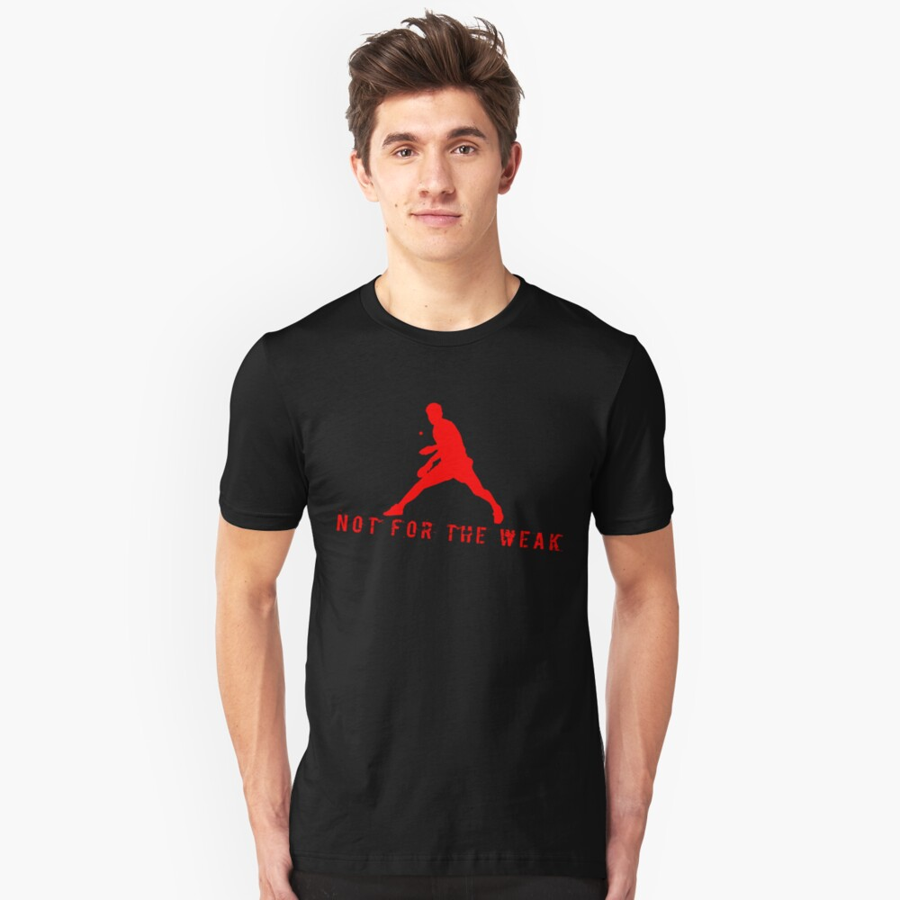 Table tennis Ping-pong player tennis player ping-pong gift Unisex T-Shirt Front