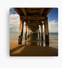 Vanishing Canvas Print