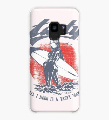TASTY™ Wave Surfer Girl Case/Skin for Samsung Galaxy