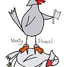 nasty bird by Soxy Fleming