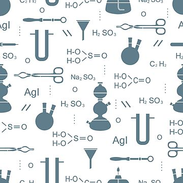 Scientific pattern. Chemistry, biology, medicine. by aquamarine-p