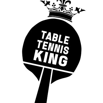 Table tennis Ping-pong player tennis player ping-pong gift by design2try