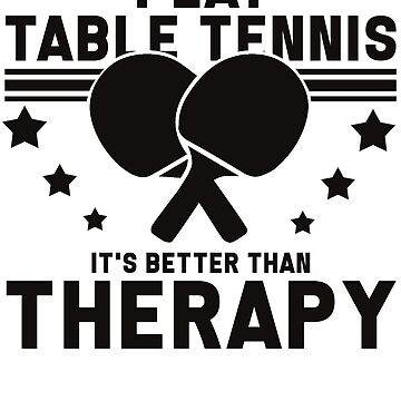 Table tennis Ping-pong player tennis player gift by design2try