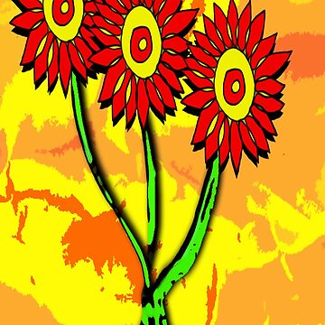 Dystopian Daisys by cradox