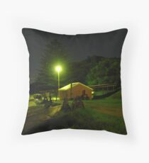 Dusk at Fisherman's Beach Throw Pillow