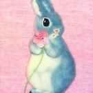 zärtliche Liebe (2012) Kaninchen / Bunny Art. No. von IkuyoFujita