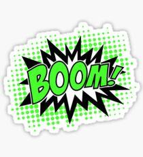 COMIC BOOM, Speech Bubble, Comic Book Explosion, Cartoon Sticker