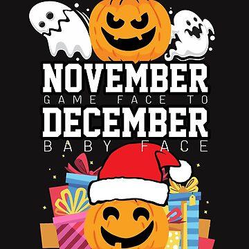 Christmas Halloween November December Pumpkin Gift by yoddel