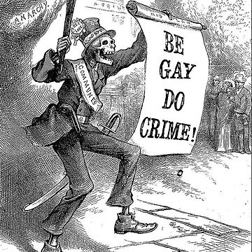 Be Gay Do Crime by Wyllydd