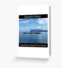 Ingonish Harbor Greeting Card