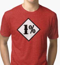 1 percenter Tri-blend T-Shirt