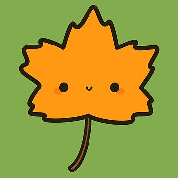 Cute autumn leaf by peppermintpopuk