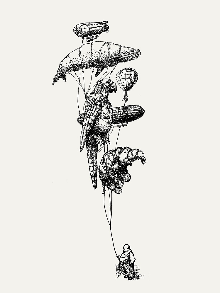 The Helium Menagerie by Eric Fan