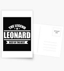 Leonard Postcards