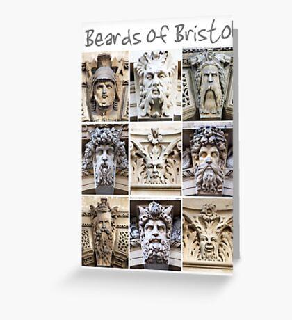 Beards of Bristol Greeting Card