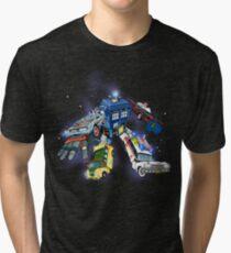 """Defender of The Nerd-verse""  Tri-blend T-Shirt"