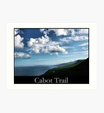 Cabot Trail Art Print
