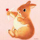 Amor Hase (2014) Kaninchen / Hase Kunst von IkuyoFujita
