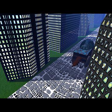 future city... by kangarookid