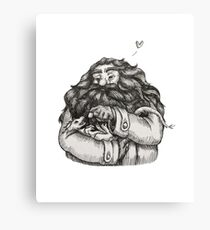 Hagrid and Norbert Canvas Print