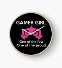 Gamer Girl - One Of The Few One Of The Proud T-shirt Clock