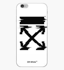 Off-White-Pfeile Temperatur Glitch iPhone-Hülle & Cover