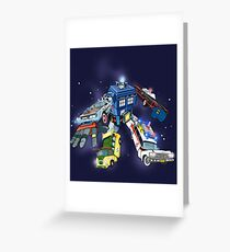 """Defender of The Nerd-verse""  Greeting Card"