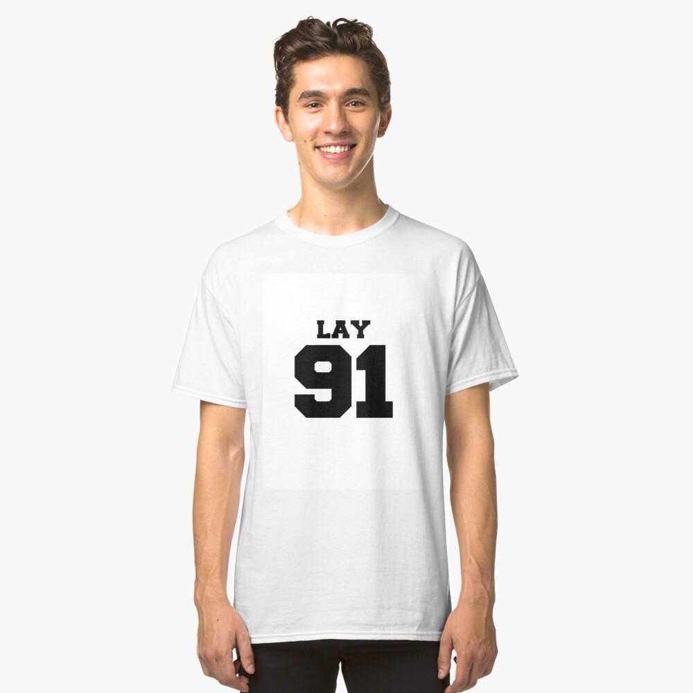 f018686e0 Lay EXO 91 Football Design EXO-M