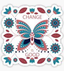 Change is Good - Winter Palette Sticker