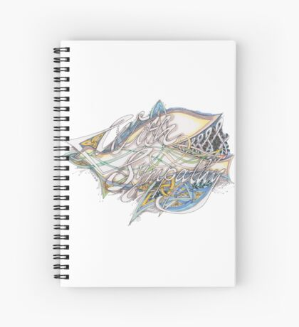 With Sympathy Spiral Notebook