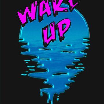 Wake Up Melting Melt Planet Earth Gift by yoddel