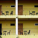 Balconies...La Fortuna, Costa Rica by graeme edwards