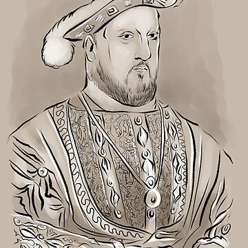 King Henry viii portrait by Extreme-Fantasy
