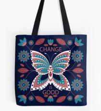 Change is Good - Winter Palette Tote Bag
