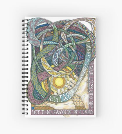 Work of Our Hands Spiral Notebook