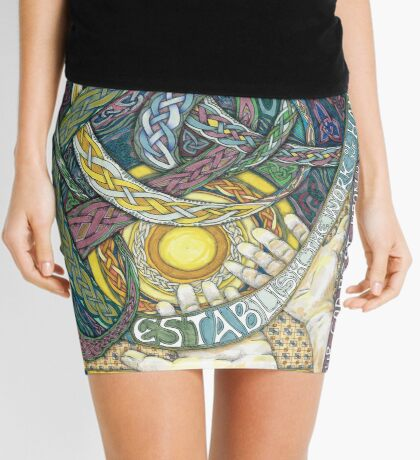 Work of Our Hands Mini Skirt