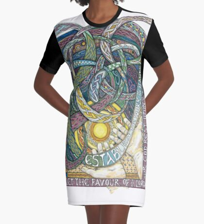 Work of Our Hands Graphic T-Shirt Dress