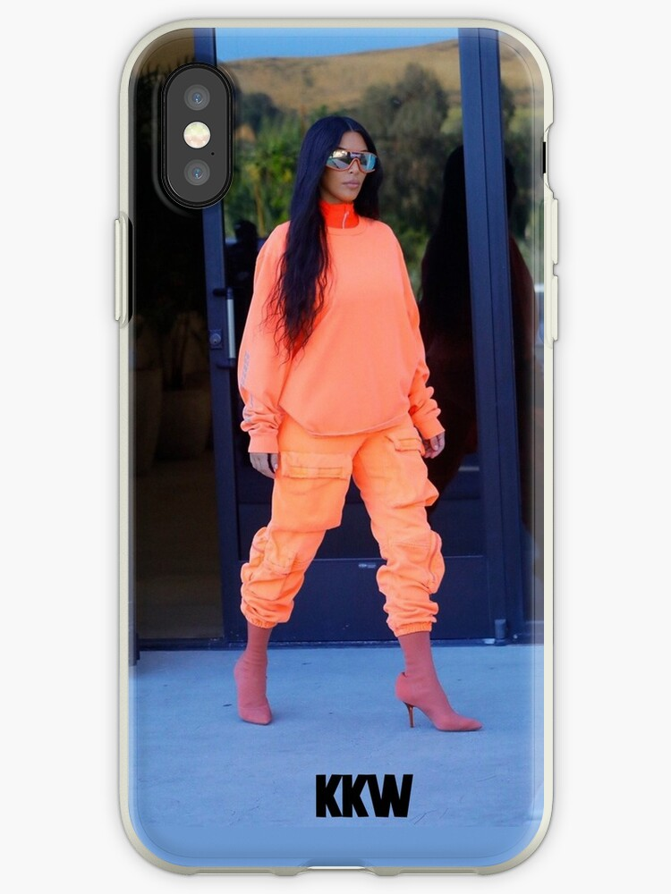 new concept e7285 4d2f3 'Kim Kardashian KKW 9' iPhone Case by scultura