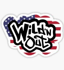 Wild N Out - Limited Edition USA flag Sticker