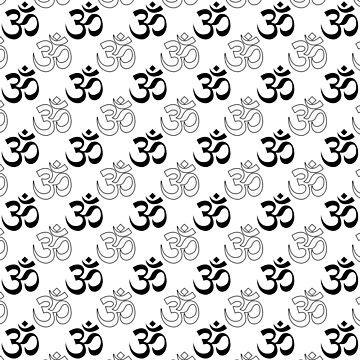 Om, Aum Symbol by Almdrs