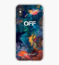 Vinilo o funda para iPhone Galaxy Smoke Color Off White