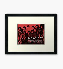 pink floyd - piper at the gates of dawn Framed Print