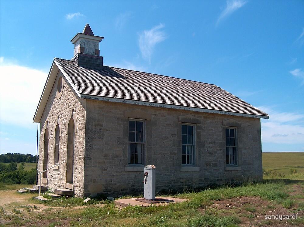 The School House by sandycarol